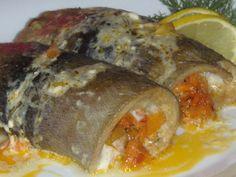 Чудесный вариант заставить полюбить рыбу навечно! - Лучшие рецепты для Вас! 70s Food, Pork, Meat, Recipes, Presentation, Fish, Pork Roulade, Pigs, Recipies