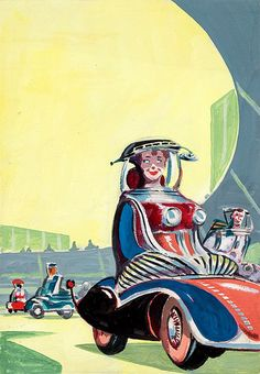 Driving by Ed Emshwiller (EMSH) | by Tom Simpson