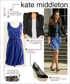 Kate Middleton style- frugal fab