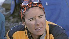 Edurne Pasaban, la primera mujer en la historia en ascender a los 14 ochomiles.