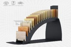 Customized Ceramic Tile Display Rack - Portable Ceramic Tile Display Rack_Display For Chinese YiDu Showroom Interior Design, Tile Showroom, Showroom Ideas, Wood Ipad Stand, Wood Display Stand, Exhibition Booth Design, Exhibition Display, Office Cabin Design, Flooring Sale