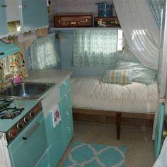 Retro Camper Interior Ideas 92