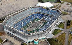Detroit's Adamo Group chosen to demolish Pontiac's Silverdome Stadium Seats, Detroit Lions, Architectural Salvage, The Locals, Troll, City Photo, Real Estate, Fan, Ford Field