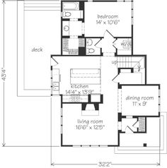 Merrick House Plan // European, English Cottage