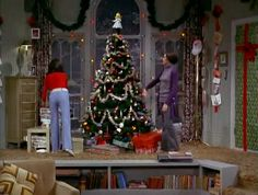 The Mary Tyler Moore Show: Christmas and the Hard Luck Kid II, 1970 . Christmas Shows, Christmas Scenes, Christmas Past, Retro Christmas, Great Tv Shows, Old Tv Shows, Mary Tyler Moore Show, Retro Baby, Vintage Interiors