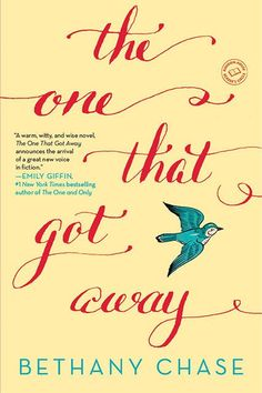 21 New Authors You Need To Know #refinery29  http://www.refinery29.com/best-new-authors-2015#slide-10  The One That Got Away by Bethany Chase (Ballantine Books)Out March 31, 2015A novel that could be worthy of a big-screen adaption, this love story is about an architect named Sarina, whose perfect life takes a left turn when her long-term boyfriend leaves town for a while and a hot former flame conveniently reenters her life. Mmm-hmm.