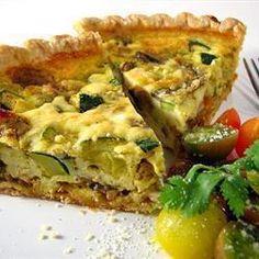 Torta salata con ricotta e zucchine @ allrecipes.it