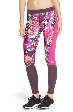 Crushing on these cute and colorful leggings in a floral print for a fun and energizing look.