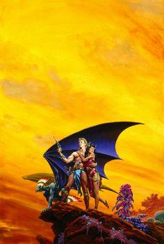 Richard Hescox, Pirates of Venus by ERB, 1991.