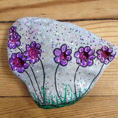 Purple flowers in the wind!