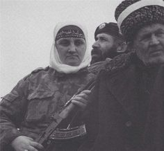 #chechnya #war civilians were ready to defend their freedom, all