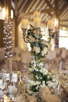 http://studiorouge.typepad.com/ wedding table center (cherubs floral design)  very romantic