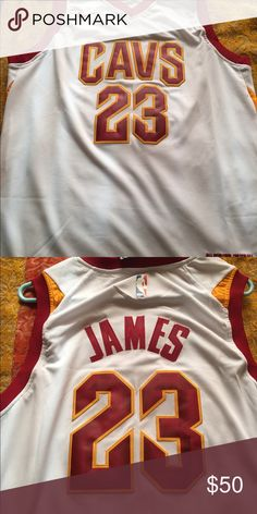LEBRON JAMES CAVS NIKE JERSEY Nike swingman jersey size medium (48) brand  new with f5f676d77