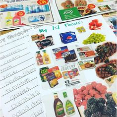 Go grocery shopping in ads for words containing your articulation sound. A great activity to pair with Articulation Menus. Perfect for mixed groups.