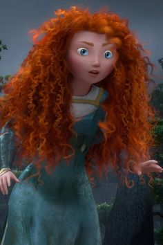 Merida from Brave The Brief: Small, feisty, loads of curly hair. Must like bears.   Key skillset: Must be proficient in archery, spear-throwing, sword-fighting and horse-riding.