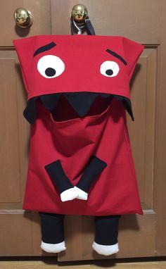 Monster eating Laundry Bag