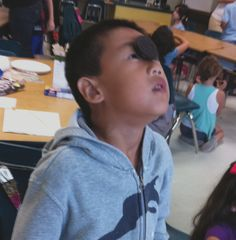 Face the Cookie: Lean head back, place oreo on forehead and wiggle facial muscles only to get cookie into mouth.