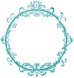 Click on Images to Enlarge This is another one from my 1890's Label Catalog. This one was made for an Ink Bottle and has such a pretty lacey frame around it! I've made a couple of versions of the frame for you to choose from, they would make cute Blog Buttons or fun to use...Read More »