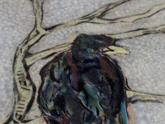 Raven Plate Handmade by Diann Adams by earthtoartceramics on Etsy