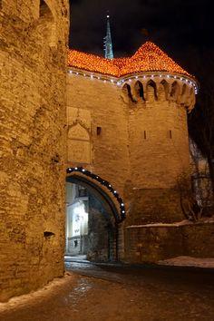 Great Coastal gate, Tallinn, Estonia