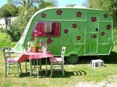 Pleasant Streams Farm Camping: Vintage Caravans for hire