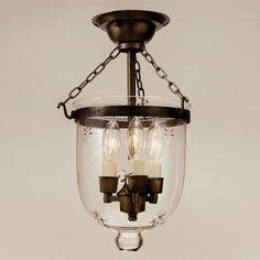 jvi designs 101 3 light small bell jar semi flush ceiling light lighting universe bell jar lighting fixtures