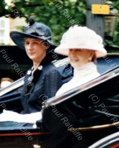 """""""June 2002 Members of the Royal Family attend Trooping the Colour, London Photographs (C) 📸"""" Princess Alexandra, June, Fashion, Moda, Fashion Styles, Fashion Illustrations"""