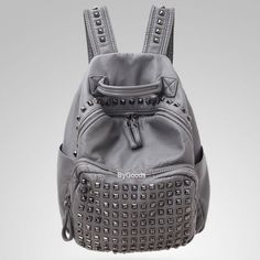 How nice Retro Rivet Waterproof Large Capacity Leisure Backpacks ! I like it ! I want to get it ASAP!