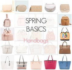 65d765aca9 Ioanna s Notebook - Spring 2016 Basics  Handbags Spring 2016