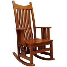 I Love This Rocking Chair. Wonder If The Amish Back Home Would Be Able To