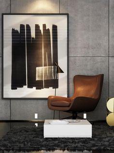Architecture d'intérieur | Un coin reposant | #pièceàvivre, #décoration, #luxe. Plus de nouveautés sur magasinsdeco.fr/