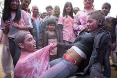 Holi hot wet girls pictures 2018