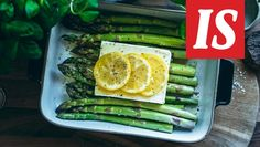 Jenni Häyrisen herkullinen ja raikas kevääseen sopiva ruoka kerää kehuja sitä testanneilta. Food Hacks, Food Tips, Ravioli, Gardening Tips, Asparagus, Feta, Grilling, Oven, Food And Drink