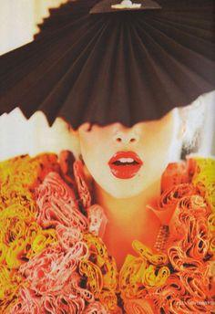 Ellen von Unwerth - Photographer Anais Pouliot - Model Ekaterina Mukhina - Fashion Editor/Stylist Cathyanne Macalister - Makeup Artist Tie Toyama - Hair Stylist