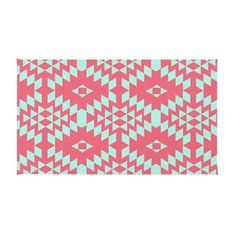 Dot & Bo Bring The Noise Rug ($26) ❤ liked on Polyvore featuring home, rugs, machine washable area rugs, outdoor area rugs, machine washable rugs, outside rugs and aztec area rug