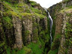 Glymur - Iceland's (former) tallest waterfall