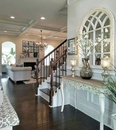 Diy farmhouse entryway inspiration 44 – Do It Yourself Style At Home, Home Living Room, Living Room Decor, Casa Magnolia, Farmhouse Style, Farmhouse Decor, Farmhouse Ideas, Modern Farmhouse, Farmhouse Lighting