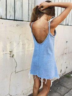 modelos outfits vestidos jeans 1