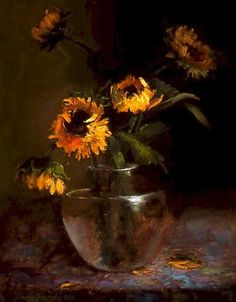 Sunflowers...Ann Hardy