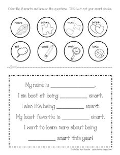 math worksheet : 1000 images about multiple intelligence activities for classroom  : Multiple Intelligences Worksheet