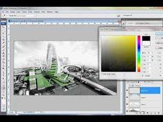 Sketchup to Photoshop: quick rendering tutorial - YouTube