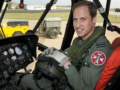 Prince William leads chopper rescue of drowning teens