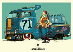 Nitrous Princess, Andrey Tkachenko on ArtStation at https://www.artstation.com/artwork/nitrous-princess