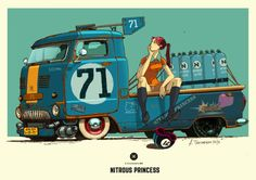 ArtStation - Nitrous Princess, Andrey Tkachenko