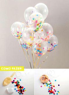 12ef95c3c1 decoração com balões Enfeites De Aniversário Infantil, Festa De Unicórnio  Simples, Festas Simples,