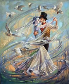 Dance with the Wind   Michael Cheval