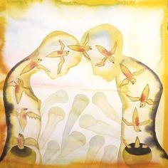 FRANCESCO CLEMENTE http://www.widewalls.ch/artist/francesco-clemente/ #drawing  #painting