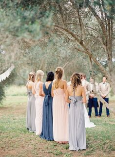 Photography: Byron Loves Fawn - byronlovesfawn.com   Read More on SMP: http://www.stylemepretty.com/2016/02/15/elegant-australian-olive-grove-wedding-with-shades-of-silver/