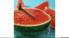 Fotógrafos criam 'delicioso' mundo em miniaturas - BBC Brasil - Notícias