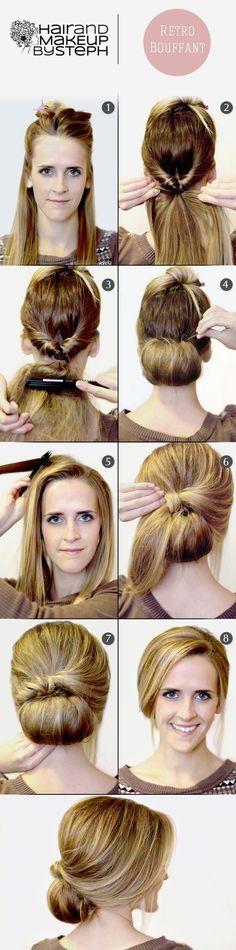 Hair tips kimberley Dunn model